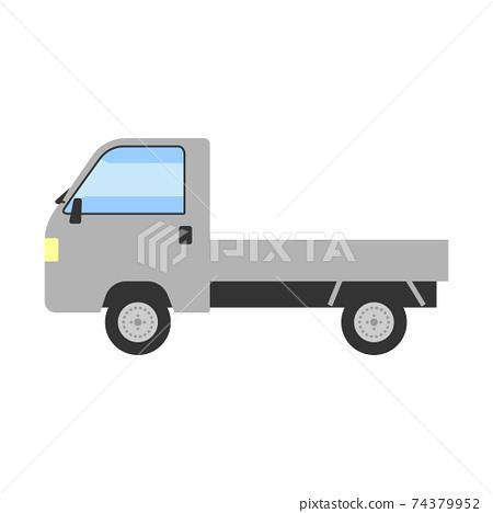 輕型卡車插圖 74379952