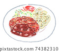 Ground Meat Cutlet 74382310