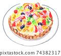 Fruit tart 74382317
