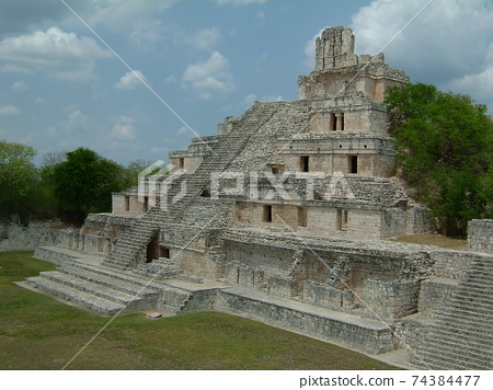 Edzna ruins from a trip to Mexico 74384477