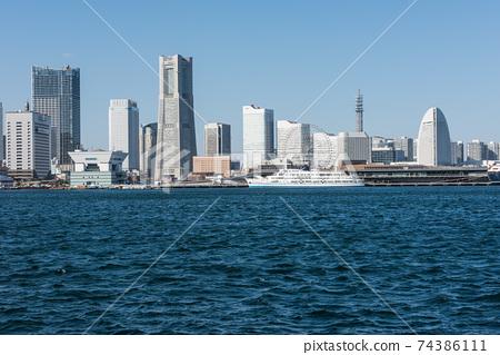 橫濱港Osanbashi和Minatomirai 74386111