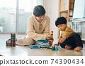 男孩和母親的形象/育兒/在家育兒 74390434