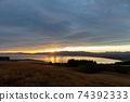 석양에 비치는 세컨드 라이프의 이미지 행복한 해외 이주 편안한 생활 이미지 74392333