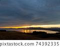 석양에 비치는 세컨드 라이프의 이미지 행복한 해외 이주 편안한 생활 이미지 74392335