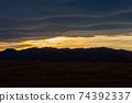 석양에 비치는 세컨드 라이프의 이미지 행복한 해외 이주 편안한 생활 이미지 74392337