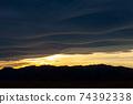 석양에 비치는 세컨드 라이프의 이미지 행복한 해외 이주 편안한 생활 이미지 74392338