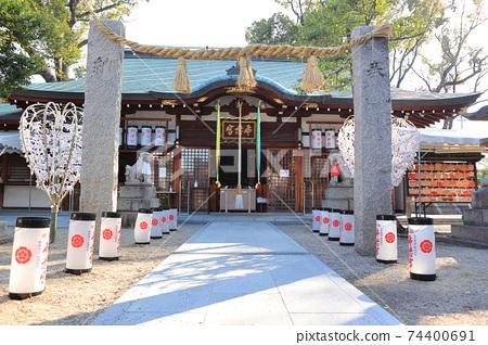 오사카, 布忍 신사 74400691