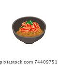 納豆泡菜的插圖 74409751