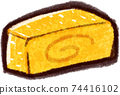 Illustration material of Dashimaki Tamago 74416102