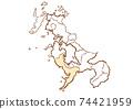 Nagasaki City, Nagasaki Prefecture / Administrative area map by prefecture 74421959