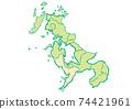 Nagasaki City, Nagasaki Prefecture / Administrative area map by prefecture 74421961