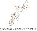 Naha City, Okinawa Prefecture Map of administrative areas by prefecture 74421971