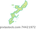 Naha City, Okinawa Prefecture Map of administrative areas by prefecture 74421972