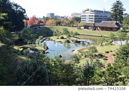 金澤城堡公園Tamanaizumaru Maru Garden 74423106