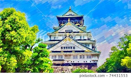 Scenery of Osaka / Osaka Castle 74431553