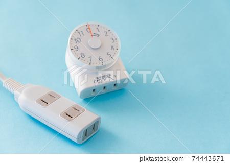 防止忘記關閉定時器的家用電器沒有定時器的老年人家用電器 74443671