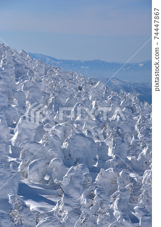 冬天的藏王風景 74447867