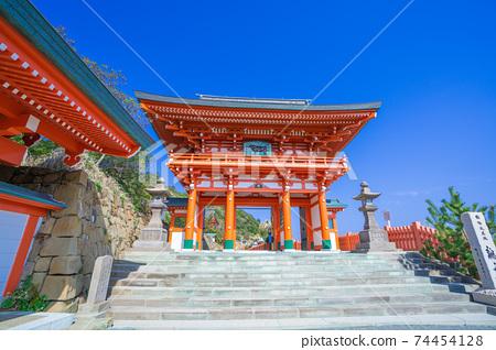 晴天的Udo Shinto神社(Udogjin)_宮崎縣日南 74454128