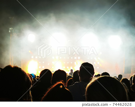 abstract concert texture 74462028