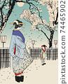 """月月吉俊(Yoshitoshi Tsukioka)月球的一百個方面"""" Yukaku"""" Kuruwa no Tsuki 74465902"""