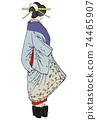 """月月吉俊(Yoshitoshi Tsukioka)月球的一百個方面"""" Yukaku"""" Kuruwa no Tsuki 74465907"""
