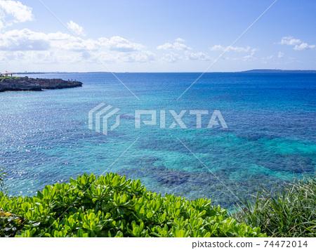 미야코 섬의 바다 74472014