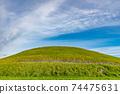 """愛爾蘭世界遺產""""博因河谷的布魯娜·波娜遺址""""紐格蘭奇 74475631"""