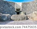 """愛爾蘭世界遺產""""博因河谷的布魯娜·波娜遺址""""紐格蘭奇 74475635"""