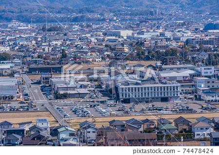 (시즈오카 현) 本城山 공원에서 바라 보는 시미즈 도시 경관 74478424