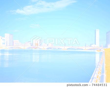 新潟信濃河 74484531