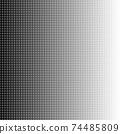 Halftone tiles gradient geometric art eps10 vector illustrarion. 74485809