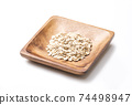 오트밀 귀리 귀리 귀리 건강 식품 이미지 소재 74498947