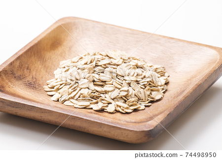 燕麥片燕麥,燕麥,燕麥,保健食品圖像素材 74498950
