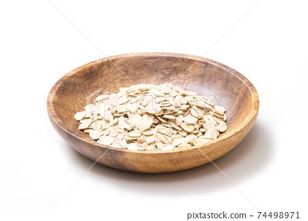 燕麥片燕麥,燕麥,燕麥,保健食品圖像素材 74498971