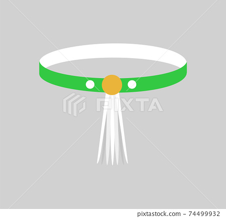 Beautiful Bangle with Yellow Clip, Colorful Card 74499932