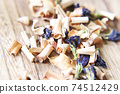 Butterfly pea and lemongrass dry herbal tea 74512429