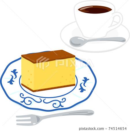 Castella和咖啡 74514654