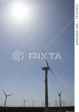 Windmills for electric power production 74524652