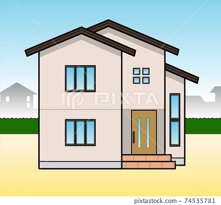 Detached houses 74535781
