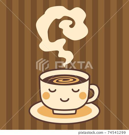 咖啡圖熱飲料 74541299