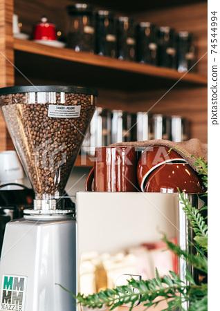靈感來自咖啡館的材料 74544994
