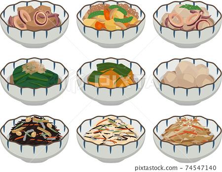 日式小碗配菜 74547140