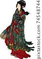 ukiyo-e, female, lady 74548744