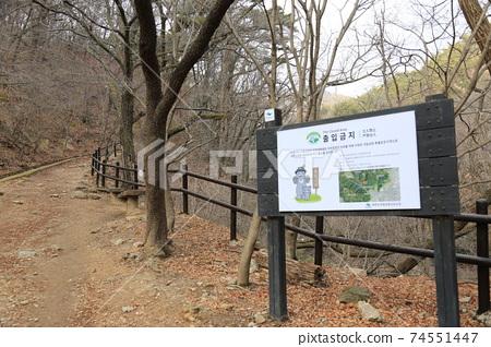 북한산.국립공원.계곡.탐방로  74551447