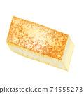 成分2-4燒豆腐④插圖也可以用於火鍋,便當盒和烹飪圖像組合系列 74555273