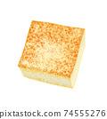 成分2-4燒豆腐①插圖組合系列,也可用於火鍋,便當盒和烹飪圖像 74555276