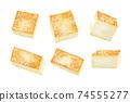 成分2-4燒豆腐清單(插圖)也可用於火鍋,便當盒和烹飪圖像組合系列 74555277