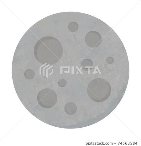 水星太陽系行星手寫風格的插圖 74563584
