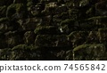 Closeup of old stone wall 74565842