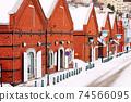 Warehouse District of Hakodate, Hokkaido, Japan 74566095